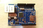 Make a Web Server using Arduino