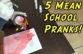 5 bromas de escuela que nunca dejan de