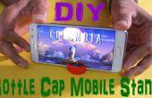 Soporte de móvil DIY con la tapa de la botella (Hack vida)