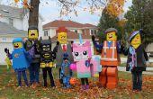 Trajes del película de Lego Lego
