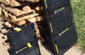Meta cero nómada marco del Panel Solar