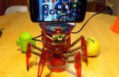 Hacking la Hexbug araña XL a añadir ordenador visión utilizando un teléfono inteligente Android