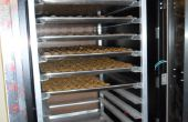 Gabinete de servidores a deshidratador del alimento, controlada por Arduino
