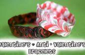 Valentín DIY y Anti - Vday pulseras!