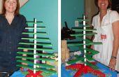 Hacer tu propio árbol de Navidad de madera