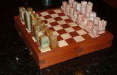 Enclavamiento de ajedrez/Checker Board Puzzle