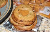 Cookies de caramelo tortuga