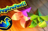 Cómo hacer una flor de lilium de origami