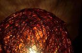 Lámpara de pie esfera alambre v2.0 de cobre