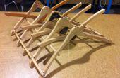 Plato de colgar tendedero de madera