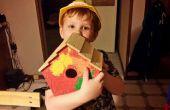 Construir y pintar una pajarera