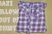 Hacer una almohada de arco fuera de la camisa (sin costura ni pegamento)