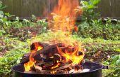 Asar un pollo en un Weber de humo