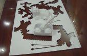 Cómo crear tu propio arte de una sola pieza de papel
