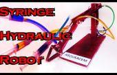 Jeringa Robot hidráulico - DIY