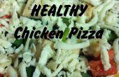 Pizza de pollo sana rápida y Simple!