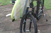 Lo desmontables PVC tubería bici surfrack