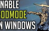 Cómo habilitar GodMode en Windows 7/8/10