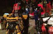 Película precisa Optimus Prime (con LED azul)