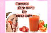 Mascarilla de tomate para piel clara