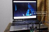 Control remoto controle su ordenador portátil con arduino UNO!