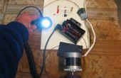 Generador de luz de bicicleta