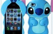 86Hero hermosa Disney 3D puntada duro caso cubrir para iPhone 4 4S