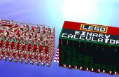 Construir una calculadora binaria mecánica de Lego