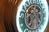 Tema cambio de luz de neón - Starbucks