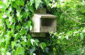 Simple caja de anidación de aves