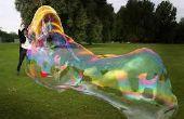 Burbujas gigantes DIY