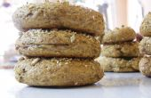 Bagel de trigo integral