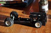 Coche de LEGO con el motor de giro