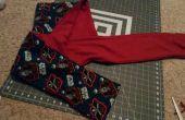 Bufanda con capucha dos capas