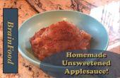 Compota de manzana 5 ingrediente fácil
