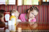Jugar con cuchillos - mantenga entretenido en un restaurante para niños