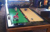 LEGO juego mesa con almacenamiento de vieja mesa y cajón.