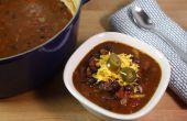 Cómo hacer Chili vegetariano