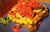 Receta vegana fácil para Paella con berenjenas