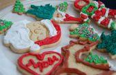 Vacaciones galletas de azúcar con glasé real