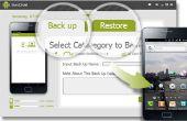 Copia de seguridad y restaurar datos de un teléfono Android con SyncDroid