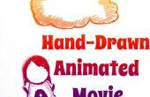 Película de animación dibujada a mano
