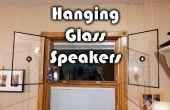 Colgante vidrio altavoces