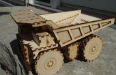 Láser corte minero camión juguete