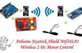 Arduino Joystick escudo Nrf24l01 Wireless 2 Dc Motor Control - proyecto de coche RC parte 1