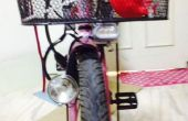 Convertir vieja linterna de dynamo LED bicicleta luz