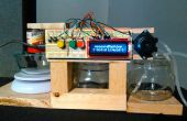 Arduino líquido/polvo exacto sistema de dispensador