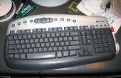 Rápido y sucio Das teclado (en blanco)