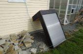 Ventana montado Solar aire caliente horno (base de sofito de aluminio)