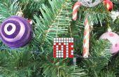 Ornamento del árbol de Navidad con movimiento en sentido vertical LED construido en videojuegos!